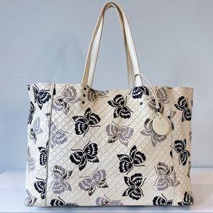 Bottega Veneta Butterfly Intrecciato Tote Bag